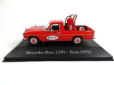 Atlas 1:43 Mercedes Benz 22D Tecin 1972 rood, in blisterverpakking