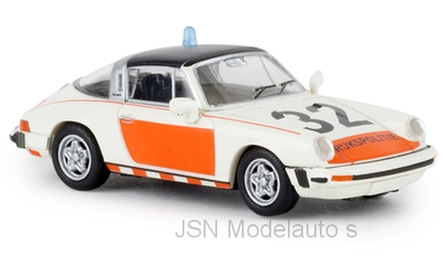 Brekina 1:87 Porsche 911 G Targa Rijkspolitie 32 TD 1976