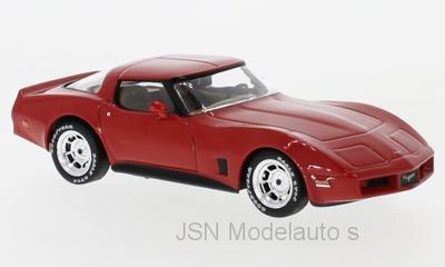 IXO 1:43 Chevrolet Corvette C3 rood 1980