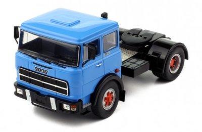 IXO 1:43 Fiat 619 blauw 1980 trekker