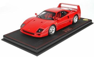 BBR 1:18 Ferrari F40 1987 rood, Resin model, oplage 400 stuks
