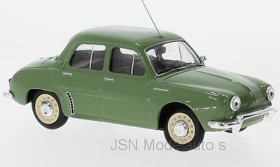 IXO 1:43 Renault Dauphine 1961 groen, verwacht 02-2020. Te reserveren