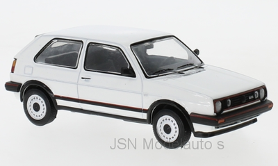 IXO 1:43 Volkswagen Golf GTi MK II wit 1984. Verwacht 02-2020, te reserveren