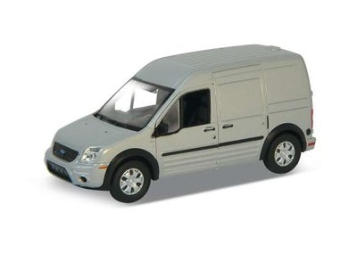 Welly 1:34 Ford Transit Connect zilver 2014