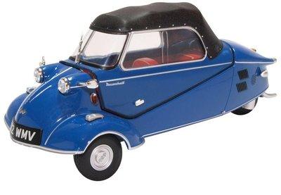 Oxford 1:18 Messerschmitt KR200 Convertible blauw