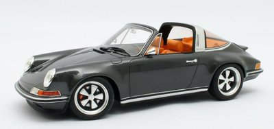 Cult Models 1:18 Singer Porsche 911 Targa metallic grey