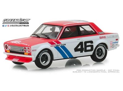 Greenlight 1:43 Bre Datsun 510 1971 no46 Brock Racing Enterprises Tokyo Torque