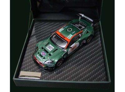 IXO 1:43 Aston Martin Racing 2006 Le Mans DBR9 no 007 British Racing green, in luxe verpakking