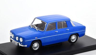 Atlas 1:24 Renault 8 TS 1968 blauw in blisterverpakking