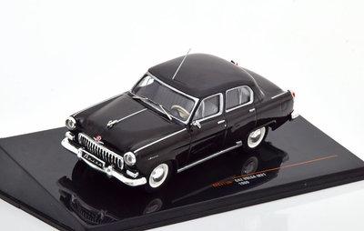 IXO 1:43 GAZ Volga M21 1960 zwart