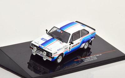 IXO 1:43 Ford Escort MK2 RS 1800 No5 Hessen Rally Haibach Linzen 1978