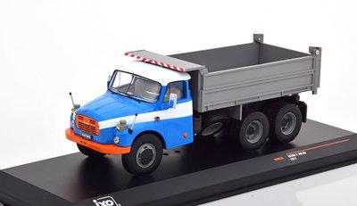IXO 1:43 Tatra T 148 S3 Kipper 1977 blauw grijs