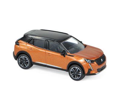 Norev 3 inchs Peugeot 2008 2020 oranje