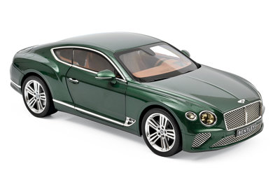 Norev 1:18 Bentley Continental GT 2018 Verdant metallic. Levering 12/2019. Te reserveren