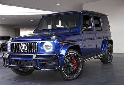 GT Spirit 1:18 MERCEDES-AMG G63 2020 Canvasite Blue