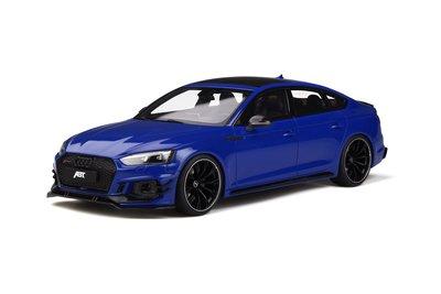 GT Spirit 1:18 Audi ABT RS5 SPORTBACK Nogaro blue. Levering 04-2020