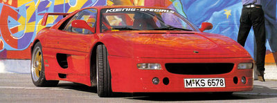 GT Spirit 1:18 KOENIG SPECIALS F355 Rosso Corsa