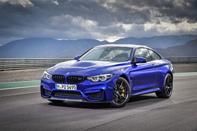 GT Spirit 1:18 BMW M4 CS San Marino blue metallic