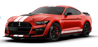 GT Spirit 1:12 FORD SHELBY GT500 2020 Race red
