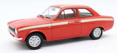Cult Models 1:18 Ford Escort MkI Mexico red 1973. Resin model