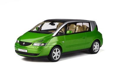 Otto Mobile 1:18 Renault Avantime Vert Taiga. Verwacht 01/2020