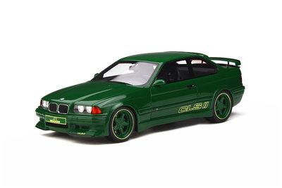 Otto Mobile 1:18 BMW AC Schnitzer E36 CLS II Green. Verwacht 02/2020