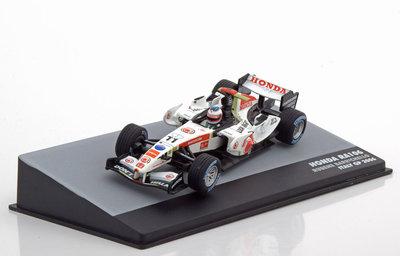 Atlas 1:43 Honda RA106 Rubens Barrichello no 11 Italy GP 2006