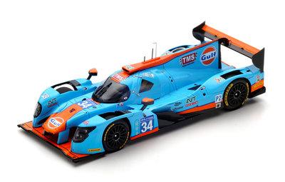 Spark 1:18 Ligier JS P217 Gibson no 34 Tockwith Motorsports Moore / Hanson / Chandhok Le Mans 2017
