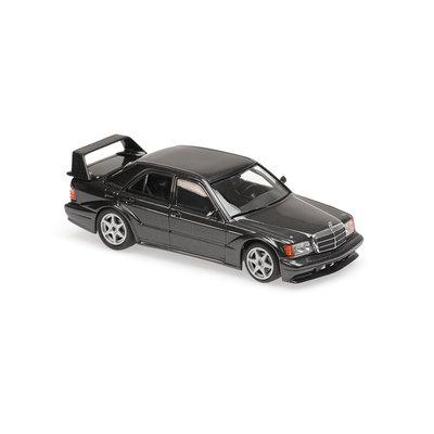 Maxichamps 1:43 Mercedes Benz 190E 2.5 16 Evo2 1990 blauw zwart metallic