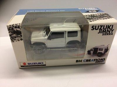 BM Creation Junior 1:64 Suzuki Jimny Sierra JB74 wit