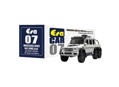 Era 1:64 Mercedes Benz G63 AMG 6x6 with extra top lights 2019, white