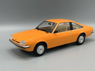 MCG 1:18 Opel Manta B oranje 1975