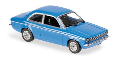 Maxichamps 1:43 Opel Kadett C 1974 blauw