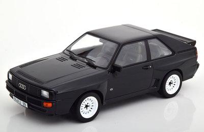 Norev 1:18 Audi Sport Quattro 1985 - Black