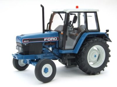ROS 1:32 Ford 6640 SL 2WD blauw, tractor