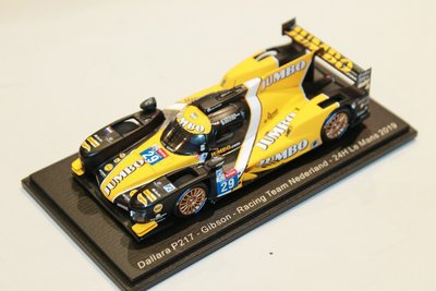 Spark 1:43 Dallara P217 Gibson no 29, Racing Team Nederland 24H Le Mans 2019