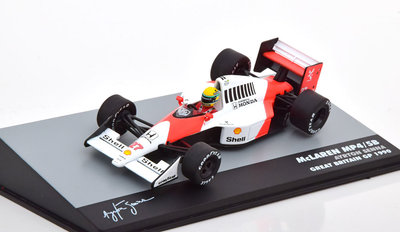 Atlas 1:43 McLaren MP4/ 5B Ayrton Senna no 27 Great Britain GP 1990
