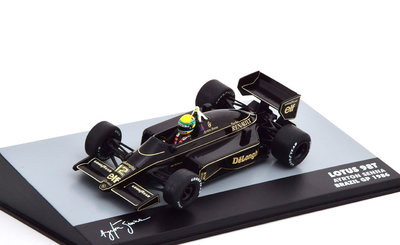 Atlas 1:43 Lotus 98T Ayrton Senna no 12 Brazil GP 1986