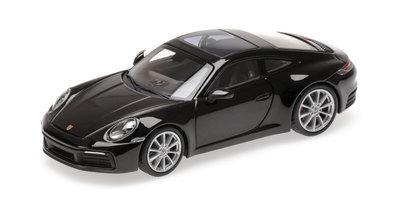 Minichamps  1:43 Porsche 911 (992 ) Carrera 4S 2019 zwart