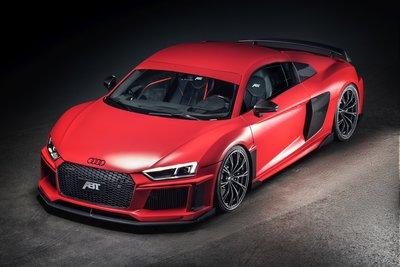 GT Spirit 1:18 Audi ABT R8 Matte red. Verwacht juni 2020