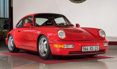 GT Spirit 1:18 PORSCHE 911 [964] CARRERA RS 3.6 CLUB SPORT Indian red. verwacht juni 2020