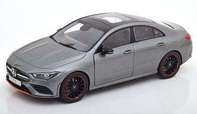 Z Models 1:18 Mercedes Benz CLA Class Coupe C118 2019 in dealer verpakking Mercedes Benz AG