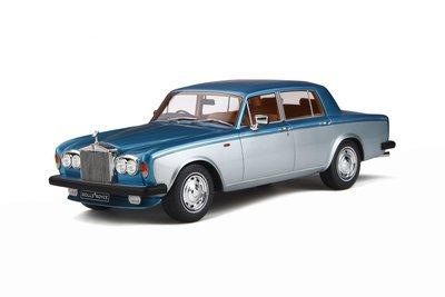 GT Spirit 1:18 Rolls Royce Silver Shadow II Caribbean aqua / Silver
