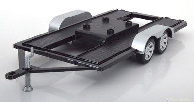 Motor Max 1:18 Auto aanhanger / Car Trailer, diecast metal