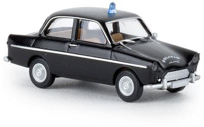 Brekina 1:87 DAF 600 zwart Politie Nederland
