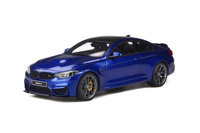 GT Spirit 1:18 BMW M4 CS San Marino blue metallic. Levering 04-2020