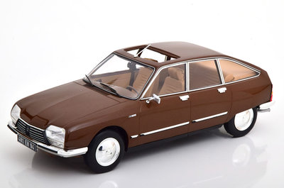 Norev 1:18 Citroën GS Pallas 1978 - Cigale Brown