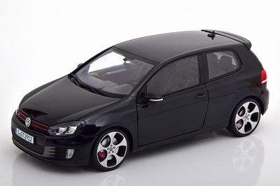 Norev 1:18 Volkswagen Golf GTI 2009 zwart