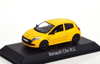 Norev 1:43 Renault Clio R.S. 2009 Sirius Yellow