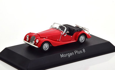 Norev 1:43 Morgan Plus 8 1980 rood